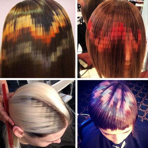 دوره رنگ مو پیکسلی ، دوره آموزش رنگ مو ، آموزش انواع رنگ مو